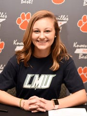 Powell High's Ashlyn Miller signed a letter of intent