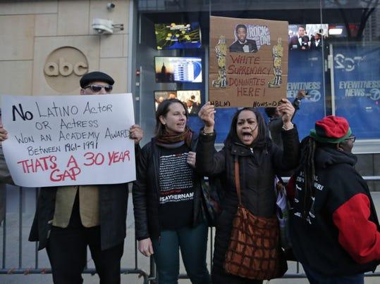 Oscars Diversity Protest