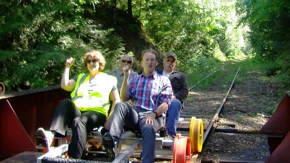 Railriding in Mason County