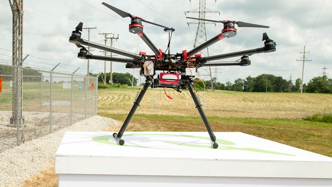 Consumers Energy has announced it will use drones to inspect power lines and other equipment.
