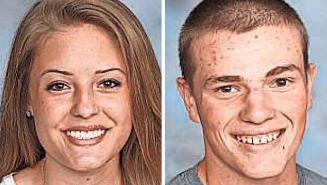 Anna Arndt and Camden Moser of Manawa High School are this week's top scholars.