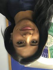 Karen Amaro, 18, volunteers at the Freehold Area Open