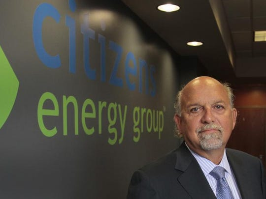 Citizens Energy Group president and CEO Carey Lykins poses in the near north side building July 1, 2013.