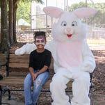 Kids meet Easter Bunny at Pensacola Easter Egg Hunt (Part 2)