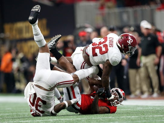 Alabama's Rashaan Evans would be a steal early in the