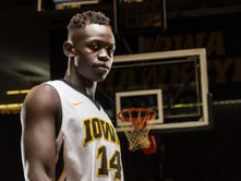 From Sudan to Iowa star: Inside the personal evolution of Peter Jok