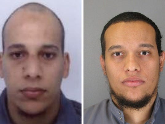 French terror suspects