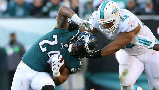 Eagles running back Ryan Mathews has been out of action since Week 10 with a concussion.
