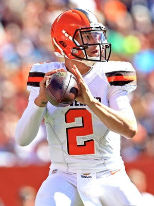 Johnny Manziel has done enough to remain the starter.