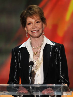 Actress Mary Tyler Moore died Wednesday at 80, her longtime publicist, Mara Buxbaum confirmed to USA TODAY.