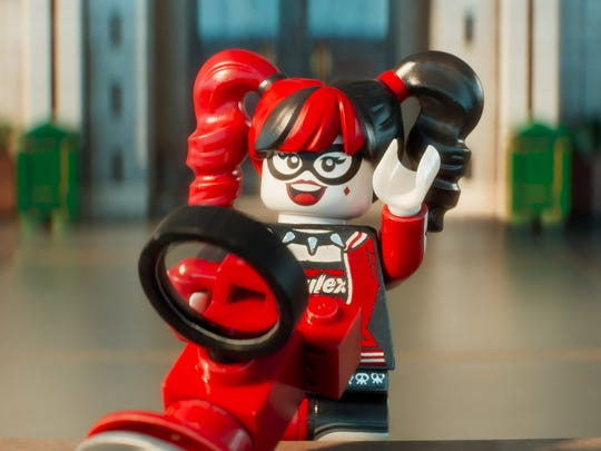 The Harley Quinn voiced by Jenny Slate in 'The Lego