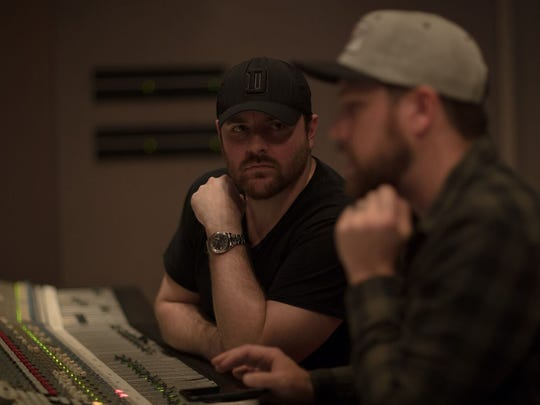 "Chris Young co-produced his new album, ""Losing Sleep,"" with Corey Crowder."