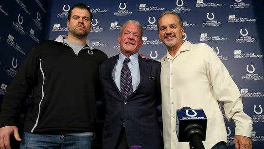 The Indianapolis Colts announce that head coach Chuck