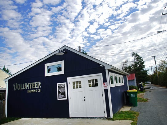 Kevin Schatz, owner of Volunteer Brewing in Middletown, opened up his own microbrewery by converting a garage into a brewing space and tasting room.