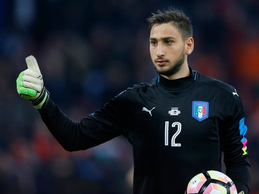 Image result for donnarumma italy