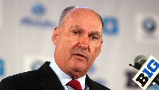 Big Ten commissioner Jim Delany's base pay skyrocketed during the 2013 calendar year, according to the conference's new federal tax return.