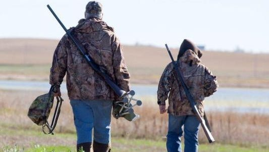 Hunting calendar for the Midstate.