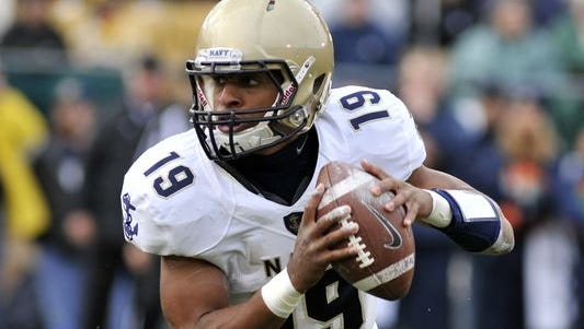 Former Goodpasture quarterback Keenan Reynolds, now at Navy, set the FBS record for career rushing touchdowns and yards.