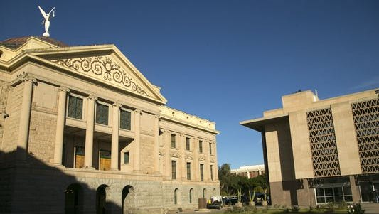 The Arizona Capitol in Phoenix. House Bill 2120, which would have expanded Arizona's controversial ethnic-studies ban to cover university and community-college courses, had sparked an outcry among students and professors who believe curriculum decisions shouldn't be left to politicians. The bill has effectively died.