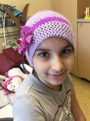9-year-old Anya LeFrancis is looking for a bone marrow