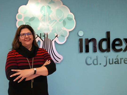 Teresa Delgado is president of the Maquiladora Industry and Export Manufacturing, known as AMAC-Index, in Juárez.