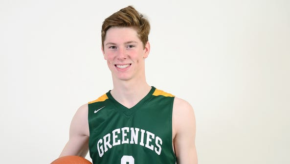 William Fleming is a senior on the Christ School basketball