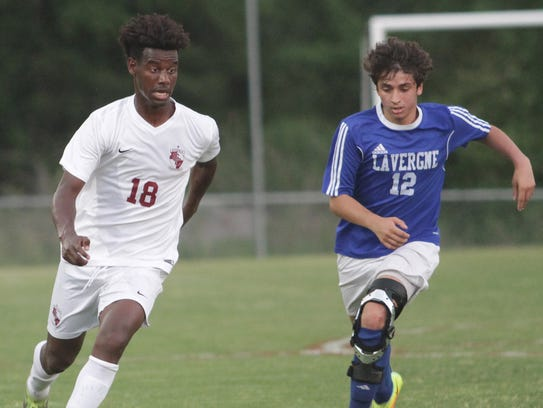 Station Camp's Atakelti Gebregzabher has been named the 2018 Gatorade Tennessee Boys Soccer Player of  the Year