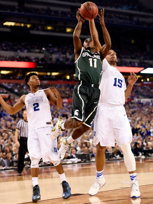 NCAA Basketball: Final Four-Michigan State vs Duke