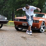 """Bastrop native Joe Smith records a video for his single """"Y.U.R.P. Game"""" at Dotson Park on the evening of Saturday, July 23, 2016. Smith also recorded at First Choice Barbershop and the Citgo convenience store known as California Stop, both places he grew up going to. """"Y.U.R.P."""" stands for """"You're Under Real Pressure."""" The single will eventually be part of his upcoming CD on F100 Music Group. F100 stands for Faith 100. Smith said it is derived from slang he and his friends use to describe the sense that all person, regardless of their profession, is under pressure to succeed in life. A former seventh grade math teacher, Smith said he hopes others are inspired by his work and the fact that he came from a small place and is achieving his dreams of becoming a hip-hop artist."""