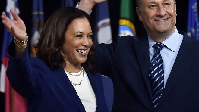 """Kamala Harris' husband Doug Emhoff, will be the country's first """"second gentleman"""" when Harris is sworn in as vice president in January."""