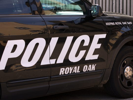 Royal Oak Police patrol SUV.