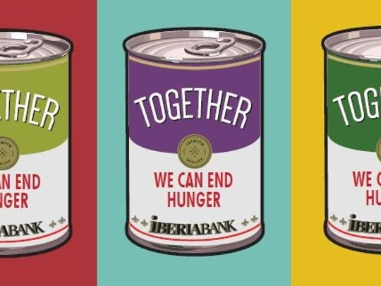 IBERIABANK partners with Acadiana Food Banks to host holiday food drive.
