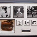 Autographed sports memorabilia auction