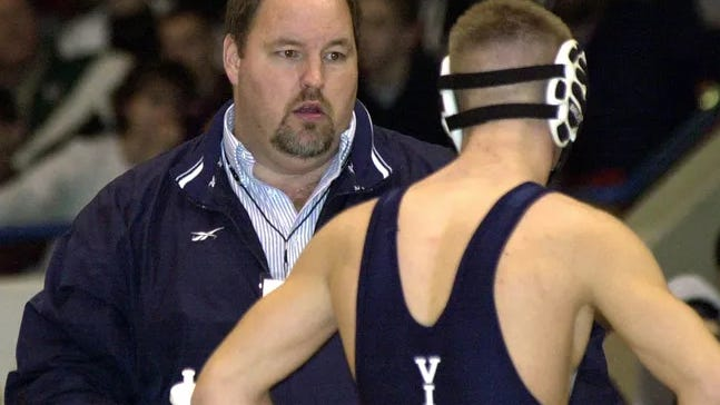 Lakewood wrestling coach Bob Veitch was elected to the Michigan Wrestling Association Hall of Fame.