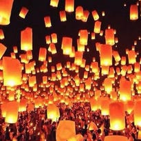 Thousands of lanterns will be lit and released at the Lantern Fest on Saturday, which will take place at the Pikes Peak International Raceway in Fountain, Colorado.