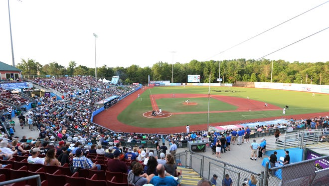 A perfect day for baseball at Dutchess Stadium in Fishkill for Thursday's home opener for the Renegades on June 21, 2018.
