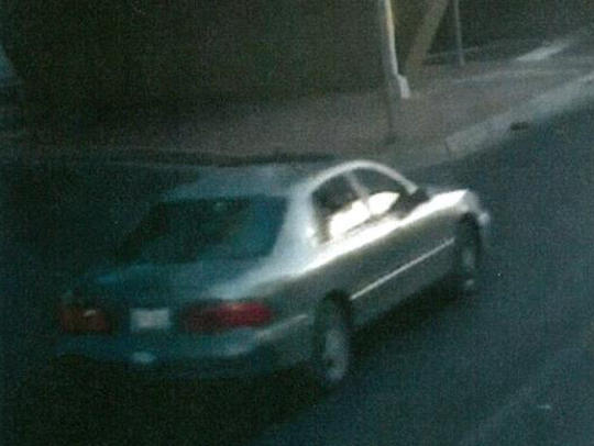 El Paso police investigators had released a photo of a green 1999 Toyota Avalon believed to have been involved in fatal hit-and-run wreck on Oct. 4.