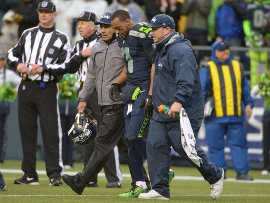 Seahawks' Percy Harvin not cleared for Thursday's practice