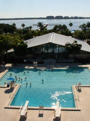 Don't have a pool? The Yacht Club has one ready and waiting for you.