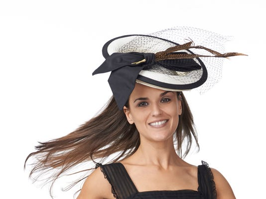 NYC Hat Designer Christine A. Moore Hits Monmouth Park for Haskell 93d32a2d53e