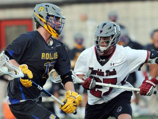College Lacrosse: Rollins at Florida Tech