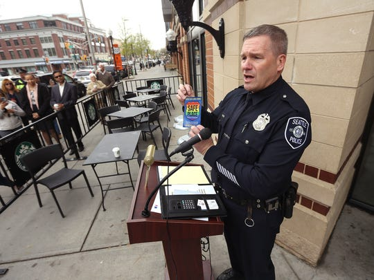 Seattle Police Officer Jim Ritter, founder of the 'Safe