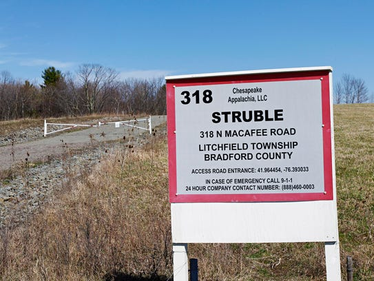 Chesapeake's Struble Well sits near the south border