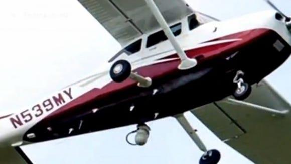 Mystery plane.