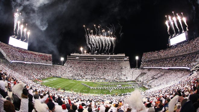 A packed Beaver Stadium, such as the one seen here in a file photo, is a possibility for the 2021 football season.
