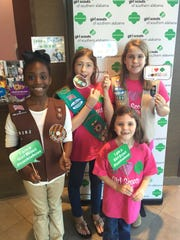 Girl Scouts  will be selling cookies in a store located