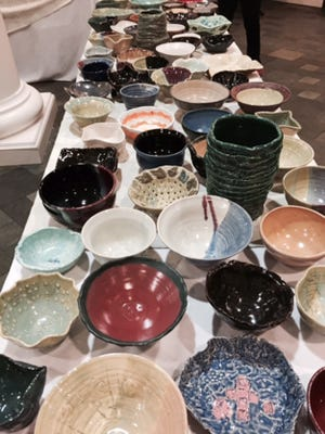 The annual Empty Bowls Luncheon will be held from 11 a.m. to 1 p.m. on Thursday, March 17 at First Baptist Church, 305 S. Perry St.