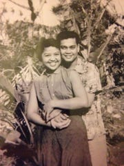 Patrica and Jose Borja, pictured here in 1955, ave