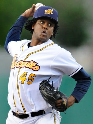 Montgomery starting pitcher Victor Mateo dropped to 8-6 on the season with Wednesday's loss.