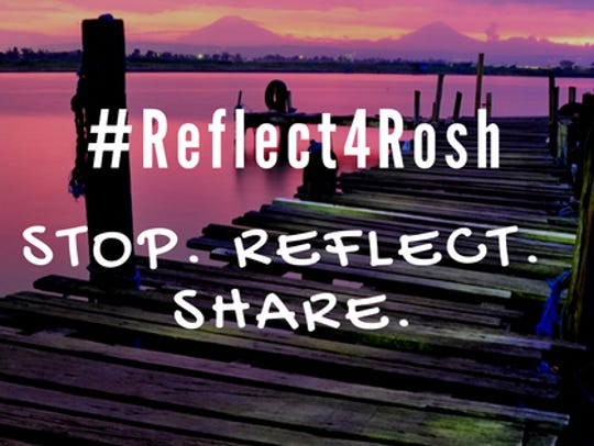 #Reflect4Rosh is an effort started in metro Detroit
